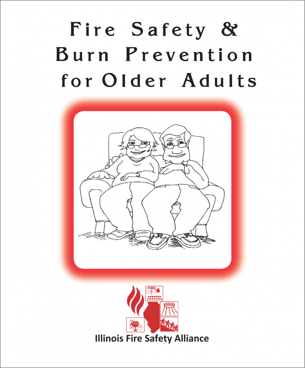 Fire Safety & Burn Prevention for Older Adults Booklet | Illinois ...
